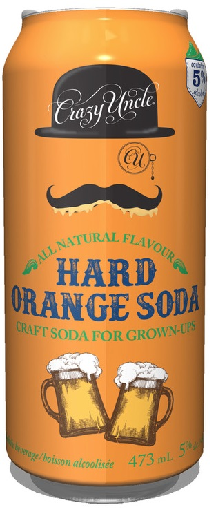 Hard Orange Soda