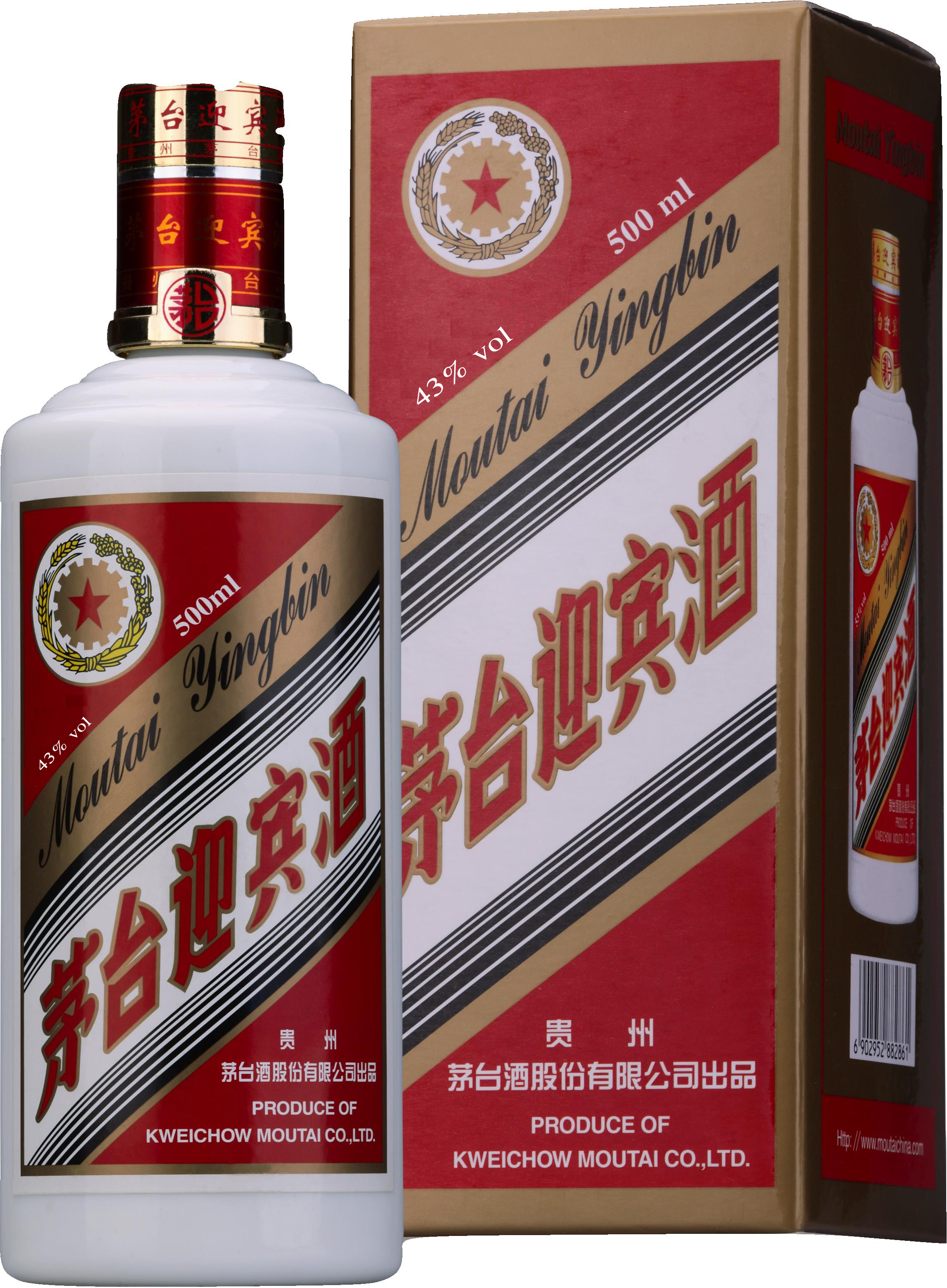 Moutai Yingbin Chiew LCBO498030 43 alc Vintages