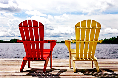 adirondack-chairs-at-lake