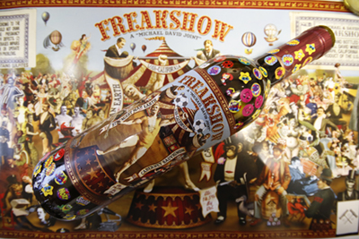 Freakshow Cab with Stickers
