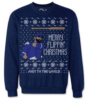 Joey Bautista Christmas Sweater
