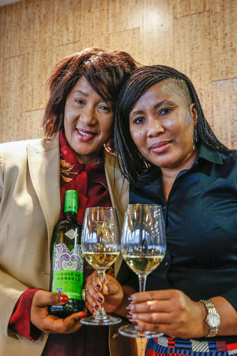 Tukwini and Dr Maki Mandela