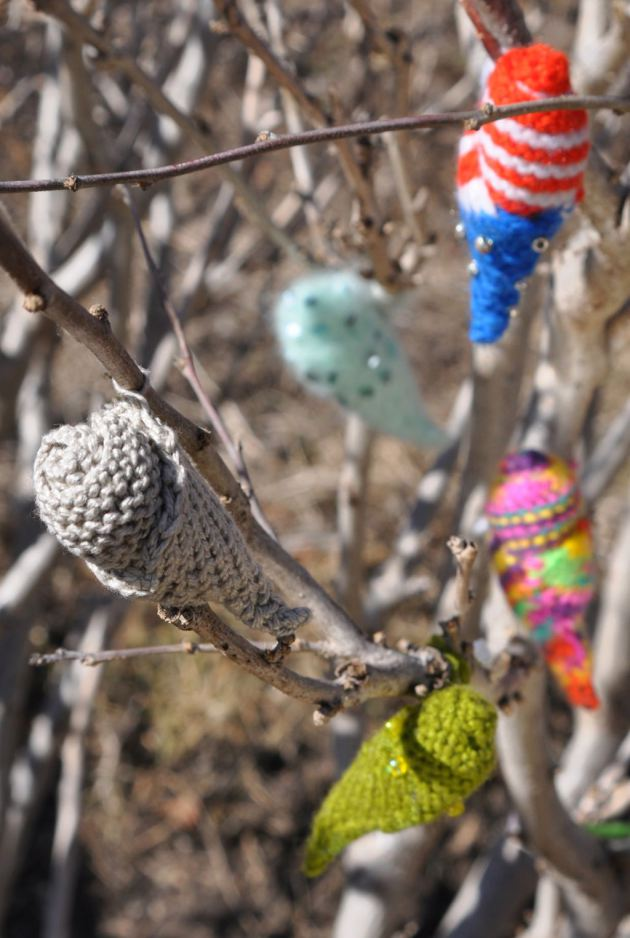 knit cocoons