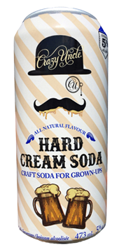 Crazy Uncle Hard Cream Soda large