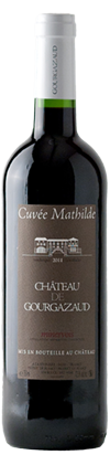 Chateau de Gourgazaud Cuvee Mathilde 2011 no background