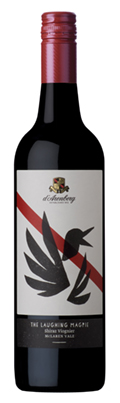 The Laughing Magpie Shiraz Viognier bottle