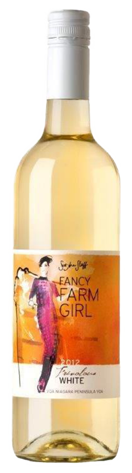 Fancy Farm Girl White large