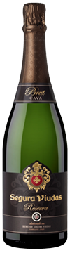 SV Brut Reserva New Bottle no background